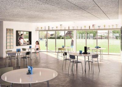 Byggerådgivning projektering klubhus