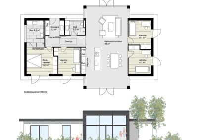 Ombygning parcelhus arkitekt
