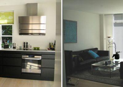Tilbygning køkken stue Hinnerup