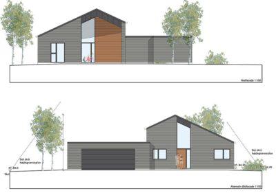 arkitekttegnet villa Hinnerup