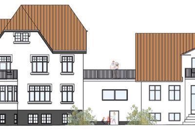 Ombygning af patriciervilla samt erhverv
