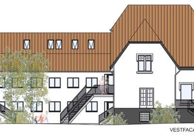 Ombygning af patriciervilla og erhverv til bolig