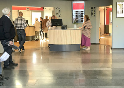 Reception Borgerservice 18.10.18